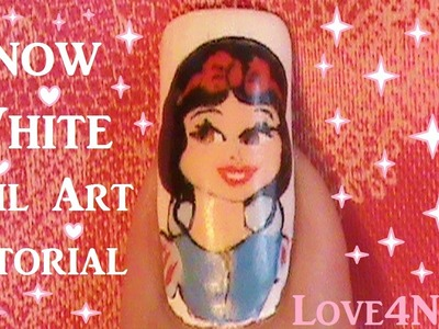 Snow White Nail Art Tutorial