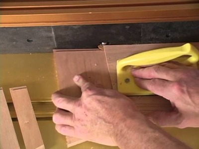 Sommerfeld's Tools for Wood - Mini Raised Panels Made Easy with Marc Sommerfeld - Part 2