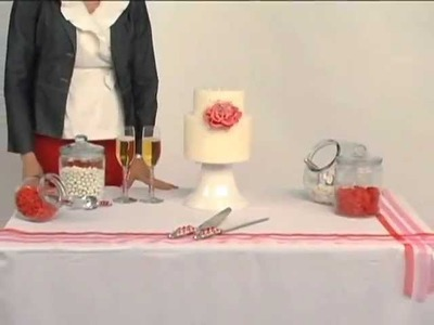 Table Linen Inspiration: Cake Tables with Couture Table