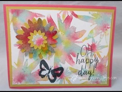 Tie-Dye Flower Re-inkers