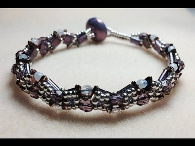 (Tutorial) Scalloped Edge Bracelet (Video 72)
