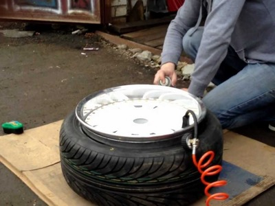 Tyre Stretch 215.40.17 on 10j