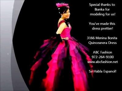 3166 Menina Bonita Quinceanera Dresses.Ball Gowns by www.abcfashion.net