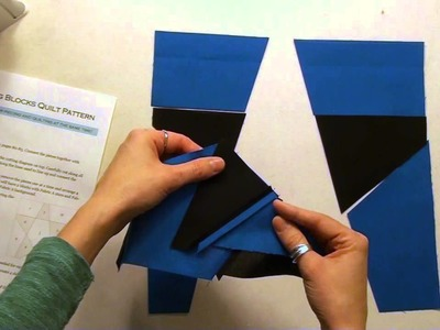 50. How to Piece a Slash Star Quilt Block