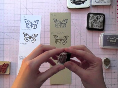 All About Stamping Lesson 2 - Inks and Coloring