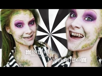 Beetle Juice Makeup Tutorial (Madeyewlook)