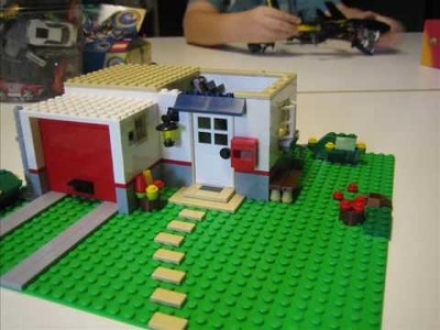 Building a LEGO House in Stop Motion