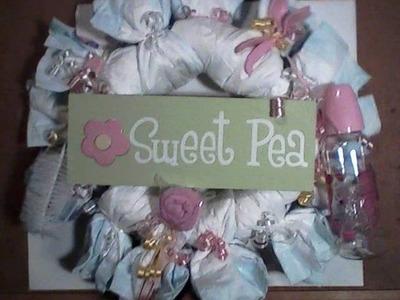 Diaper Cakes by Suite Peaz