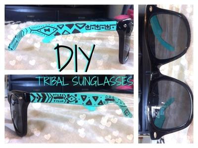 DIY: Tribal Sunglasses