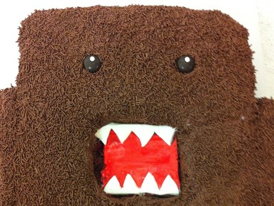 Domo Cake ( How to )