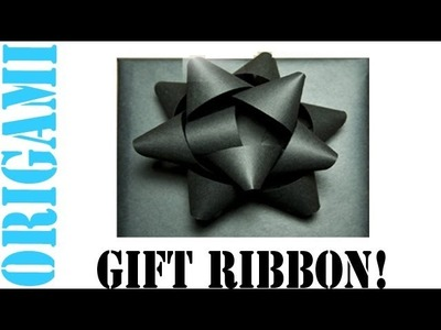 Easy Homemade Gift Wrapping Ribbon (Gift Bow) - TCGames [HD]