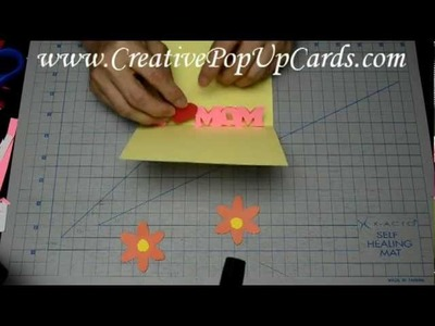 Easy Mother's Day Pop Up Card Tutorial