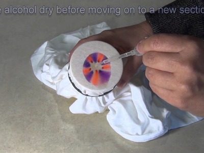 Easy Sharpie Tie Dye Science Project