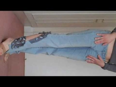 Fashion Tutorial Recycling 9: from 1 pair of trousers to 100!