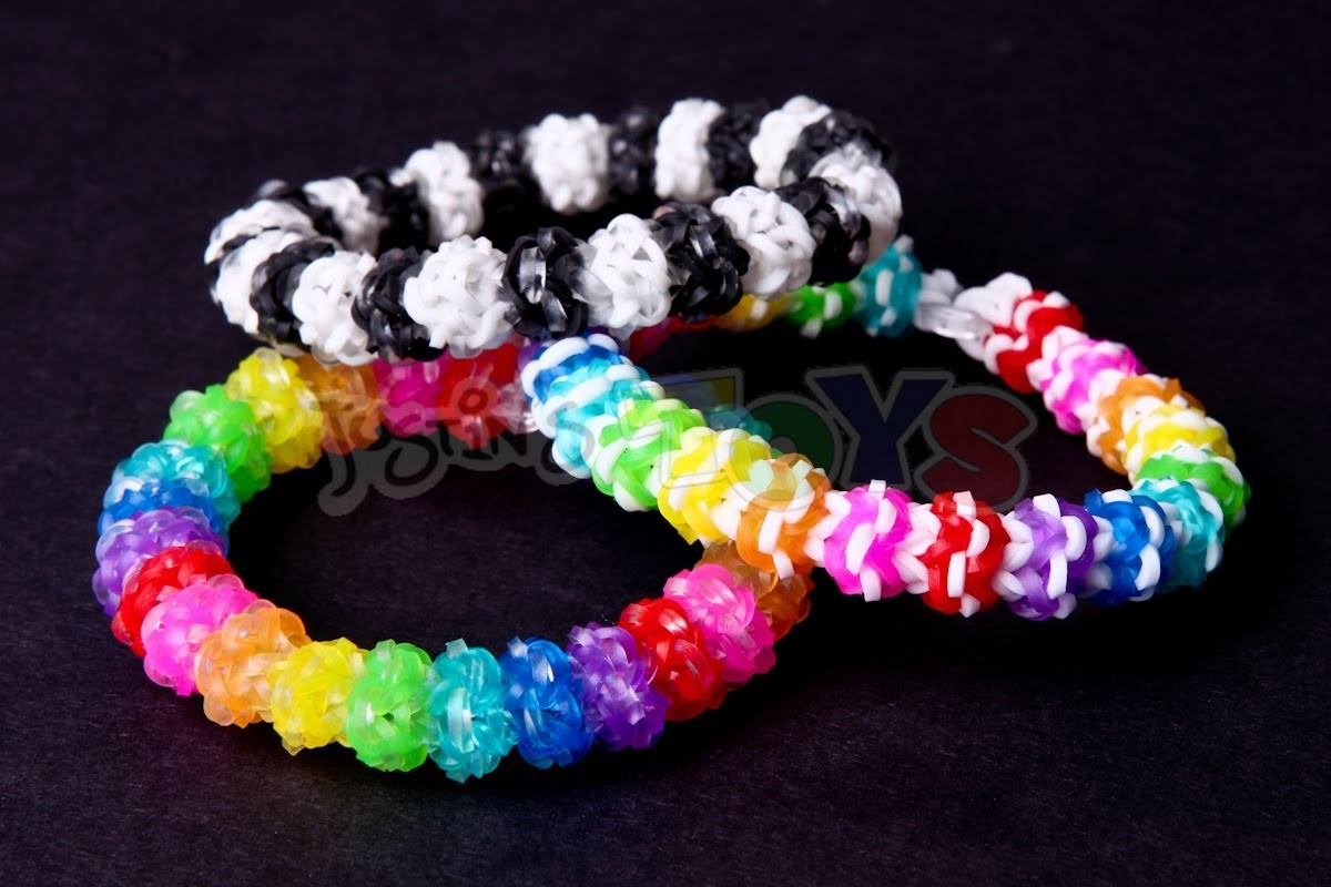 Gumdrop Bracelet - Advanced Design on the Rainbow Loom