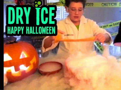 Halloween Episode - Dry Ice Spooky Experiments
