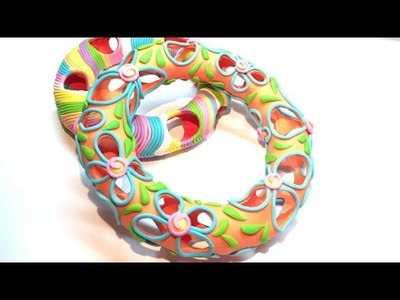 Hollow Bracelet- Polymer Clay (Fimo) Tutorial