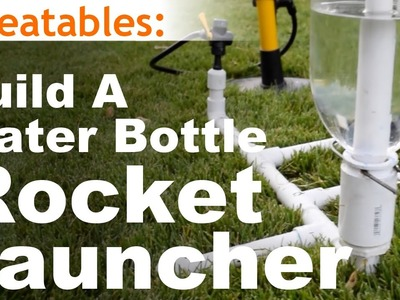 How To Build The Simplest Water Bottle Rocket Launcher