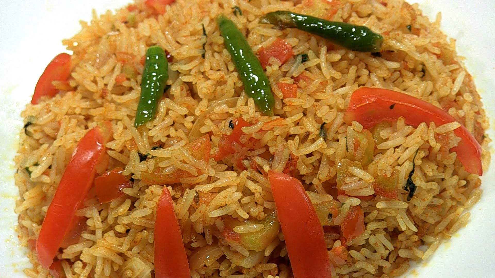 How To Cook Tomato Rice By Archana