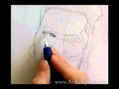 How to Draw People - Beginner Art Video Lesson  (part 3 of 4)