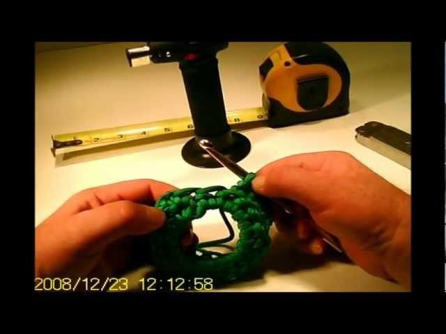 How to Make a * COOL PARACORD CAN or WATER BOTTLE COOZIE *  part # 1