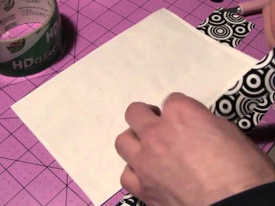 How to make a Duct tape Whiteboard!