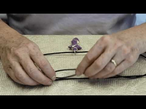 How to make an Adjustable Necklace - Part Two