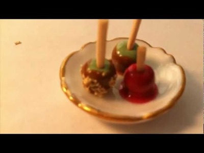How To Make Candy And Carmel Apples Out Of Polymer Clay
