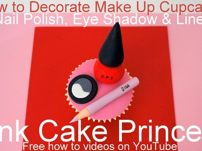 How to Make Edible Cosmetics Cupcakes (3)
