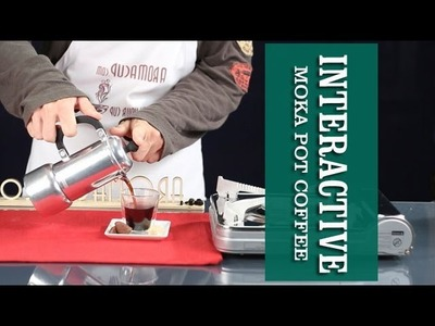 How to make Perfect Moka Pot espresso-like Coffee (interactive video) | Home Barista