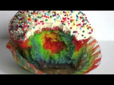 How to Make Rainbow Cupcakes 2.0