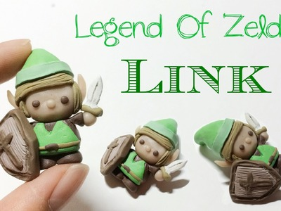 "How To : Polymer Clay Legend Of Zelda ""Link"""
