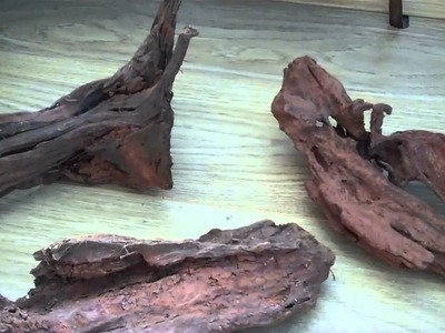 How to prepare driftwood