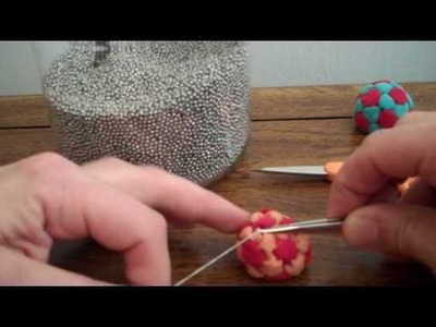 How to stitch a 32 Panel Footbag - hacky sack