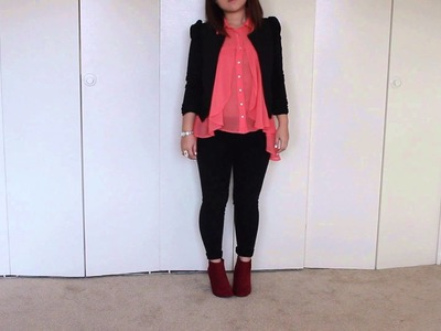 How to Wear: Colored Ankle Boots.Wedges