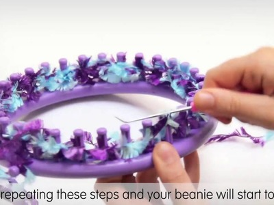 How to weave a beanie with the Threadz loom