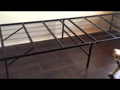 Innovated Box Spring, Bed Frame, Metal Frame - Platform Metal Bed Frame.foundation. Queen $89 Amazon