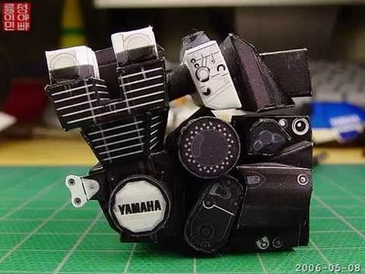 Look! It's Paper - paper model of YAMAHA XJR-1300