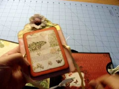 Mariposa Paper Bag Mini Album