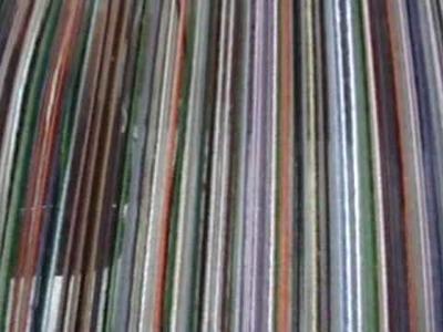 Nancy Today: Koolaid dye for wool (weaving 79) ASMR weaving