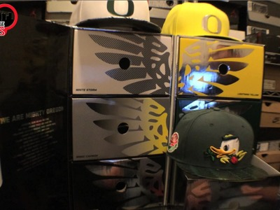 Nike Oregon Ducks Limited Edition Hat Box Collection Review 6 Snapbacks