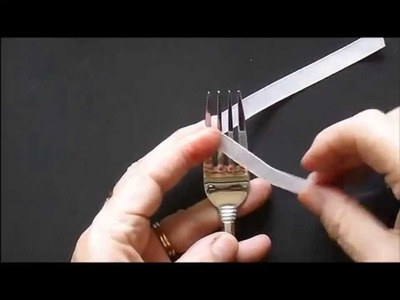 Perfect Bow Using a Table Fork
