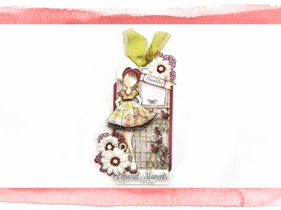 Prima Julie Nutting Candie Doll Stamp + Prima Stationers Desk