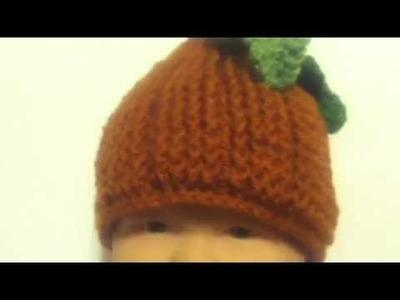 Response to Teresa's Pumpkin Spice hat