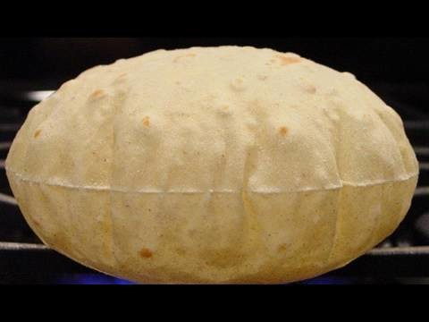 Roti or Chapati or Aka or Pulka Fulka (Indian soft bread) Video Recipe by Bhavna