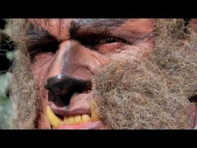 Simple Wolf Man make up