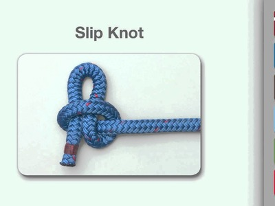 Slip Knot | How to tie a Slip Knot