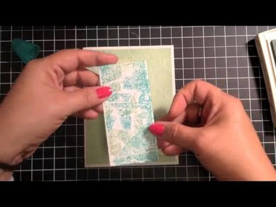 Stampin' Up! Video Tutorial Chalk Talk Birthday Card
