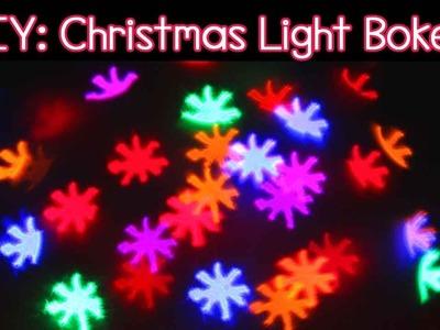 Tutorial: Christmas Light Bokeh using a DSLR