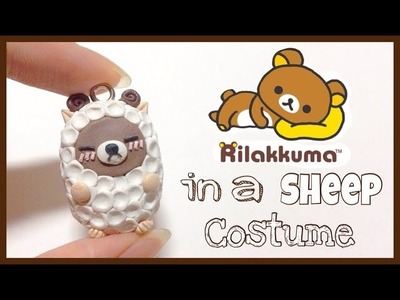 Tutorial : Polymer Clay Rilakkuma In a Sheep Costume